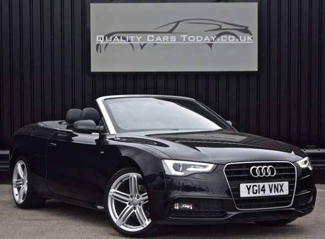 used Audi A5 2.0 TDI S LINE Special Edition Convertible Auto *1 Owner + High Spec* in sheffield