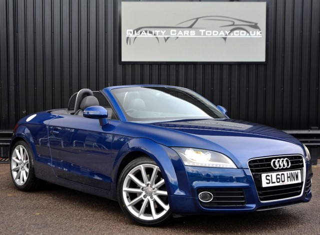 used Audi TT Roadster 1.8 TFSI *1 DR Lady Owner + Heated Seats + Just Serviced by Audi* in sheffield