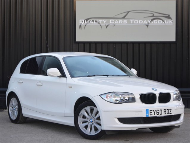 used BMW 116i (2.0) ES White *Just 29k Miles + Full Service History* in sheffield
