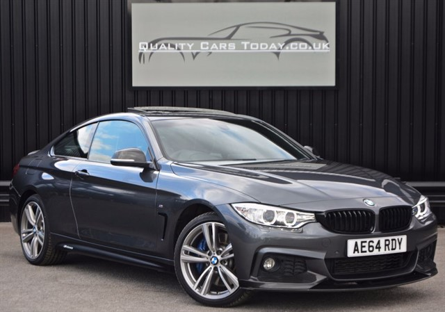 used BMW 430d XDRIVE M Sport Individual *VAT Q + Full BMSH + Highest Spec Available* in sheffield