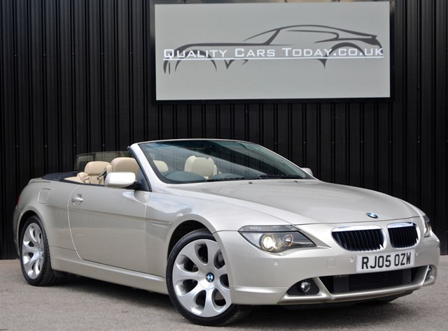 used BMW 630i Convertible Auto *Comprehensive History File+High Spec* in sheffield
