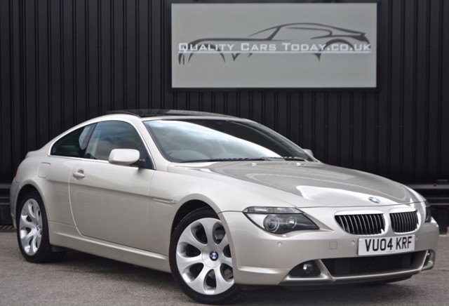 used BMW 645Ci 4.4 V8 Auto *High Spec + Full History (14 Stamps) in sheffield