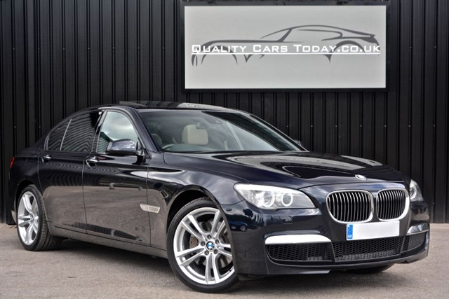 used BMW 740d M Sport *Full BMW History + Extended BMW Warranty* in sheffield