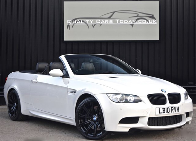 used BMW M3 4.0 V8 Convertible DCT Auto *High Spec* in sheffield