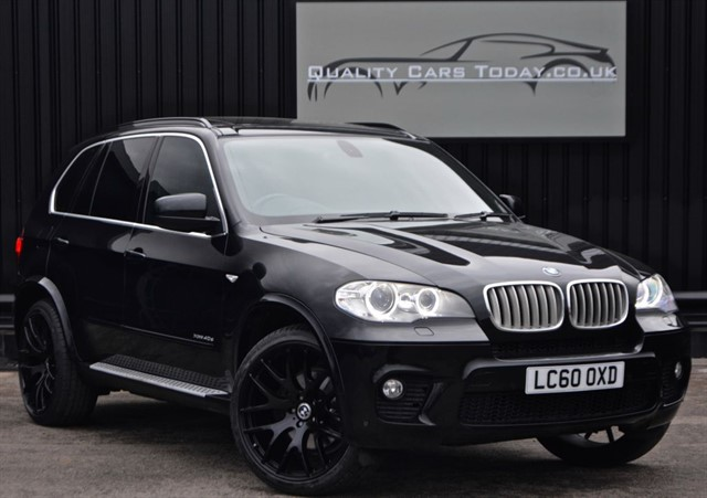 used BMW X5 XDrive 40D M Sport *FBMWSH + BMW Approved in Jun16*  in sheffield