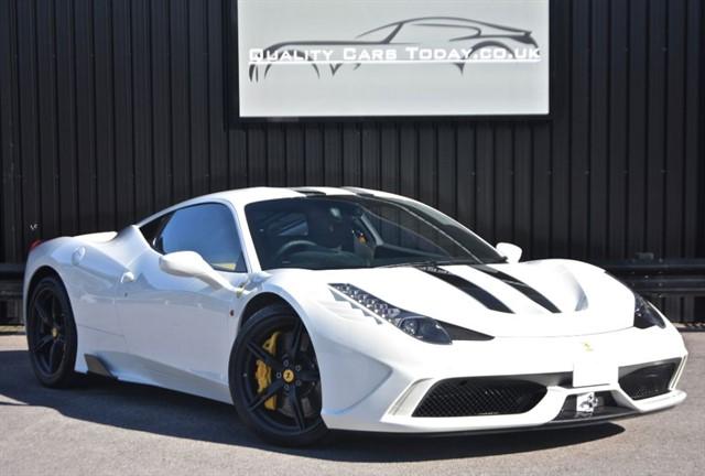 used Ferrari 458 Speciale *Massive Spec + Ferrari Warranty & Service Pack* in sheffield