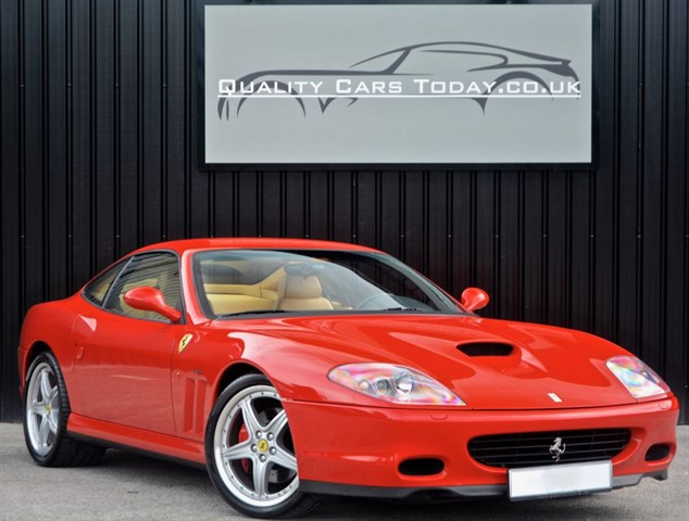 used Ferrari 575M Maranello V12 F1 * Fiorano Handling Package + Full Ferrari History* in sheffield