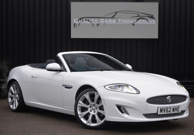 used Jaguar XK 5.0 V8 Convertible Artisan Special Edition *Massive&Rare Spec* in sheffield