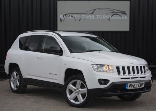 used Jeep Compass 2.2 CRD LIMITED 4WD Manual *1 Owner + Full Jeep Main Dealer History* in sheffield