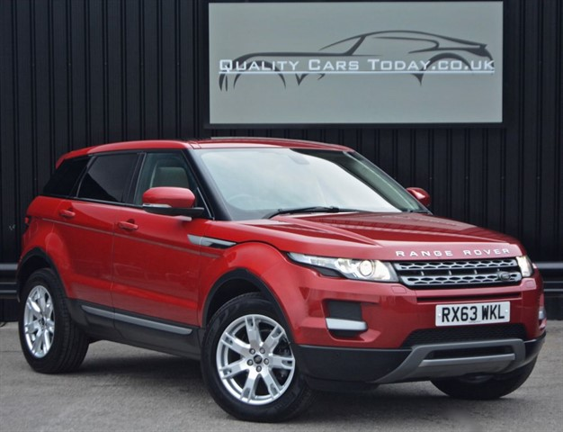 used Land Rover Range Rover Evoque SD4 PURE TECH *1 Former Keeper + Full Land Rover History + High Spec* in sheffield