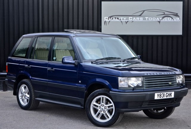 used Land Rover Range Rover P38 2.5 TD DHSE Diesel Auto *1 Owner + Just 42k Miles* in sheffield
