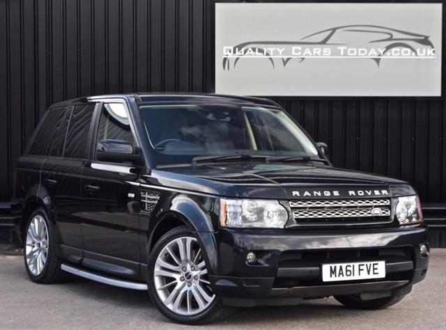 used Land Rover Range Rover Sport 3.0 SDV6 HSE Black *1 Owner + Full History* in sheffield