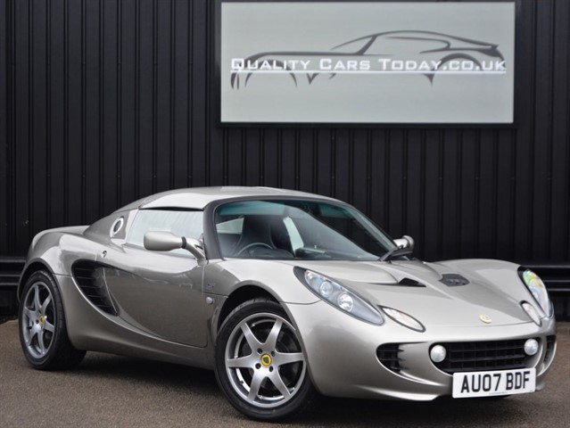 used Lotus Elise 1.8 S Touring + Hardtop + AC + FSH in sheffield