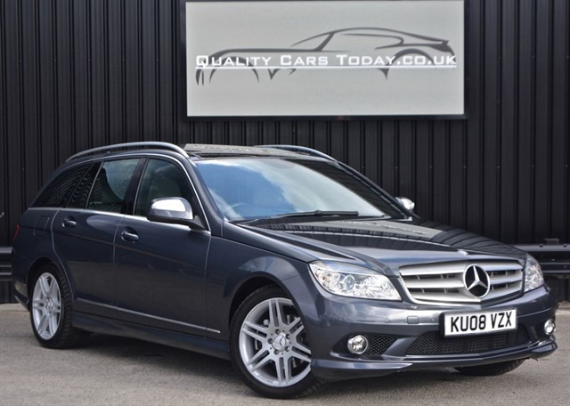 used Mercedes C220 CDI AMG Sport Estate Auto *Massive Spec + FSH* in sheffield