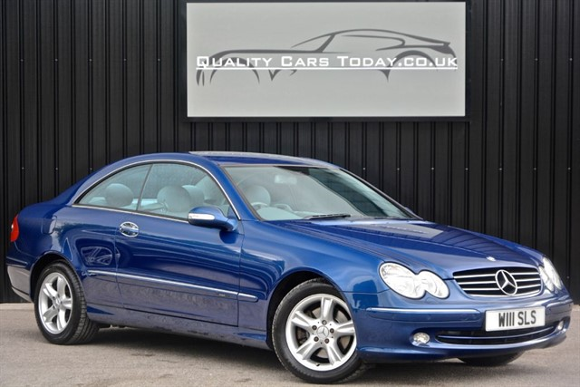 used Mercedes CLK270 CDI Avantgarde Diesel Auto Coupe *Comprehensive Service History* in sheffield