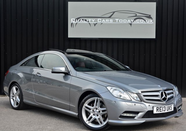 used Mercedes E350 CDI AMG Sport Coupe *VAT Q + Full MB History + Pan Roof + Harmon Kardon* in sheffield