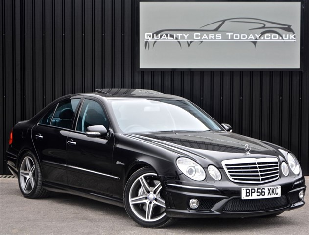 used Mercedes E63 AMG 6.2 V8 *Exceptional Example* in sheffield