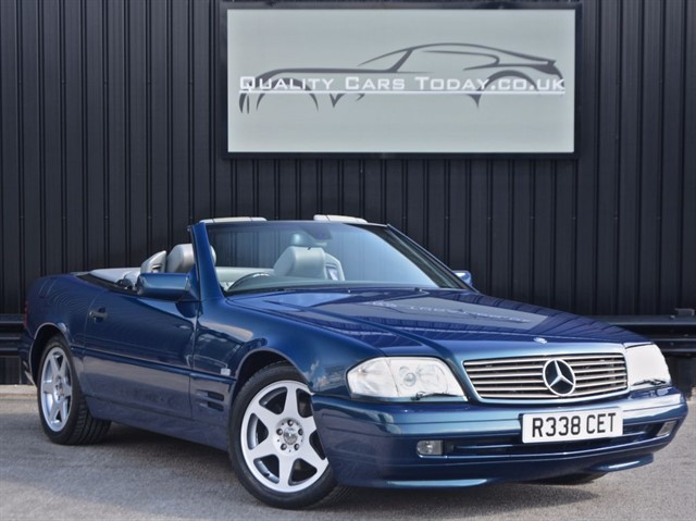 used Mercedes SL SL 320 Special Edition 40th Anniversary Designo Varicolour in sheffield