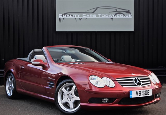 used Mercedes SL55 AMG Just 24k Miles + FMBSH + Rare Spec in sheffield
