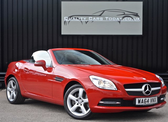 used Mercedes SLK 250 CDI Automatic *1 Owner + VAT Q + Fire Opal* in sheffield