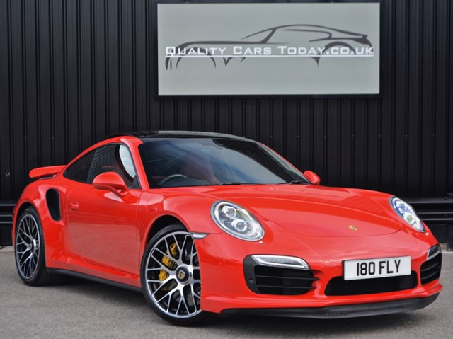 used Porsche 911 Turbo S (991) + Just 898 miles + Massive / Rare Specification* in sheffield