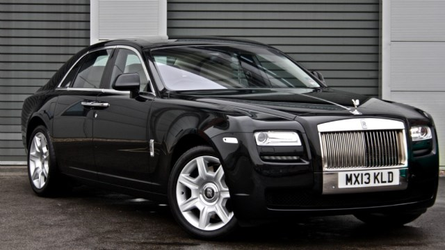 used Rolls-Royce Ghost *Vat Qualifying* in sheffield