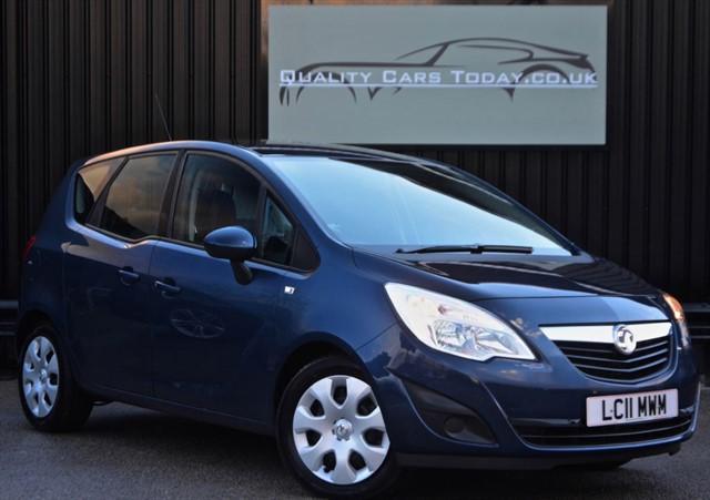 used Vauxhall Meriva 1.7 EXCLUSIV CDTI Diesel Auto *FSH + Warranty + Finance etc* in sheffield