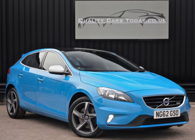 used Volvo V40 2.0 D3 R-Design Diesel NAV + Panoramic Roof + Full Volvo History + VAT Q  in sheffield