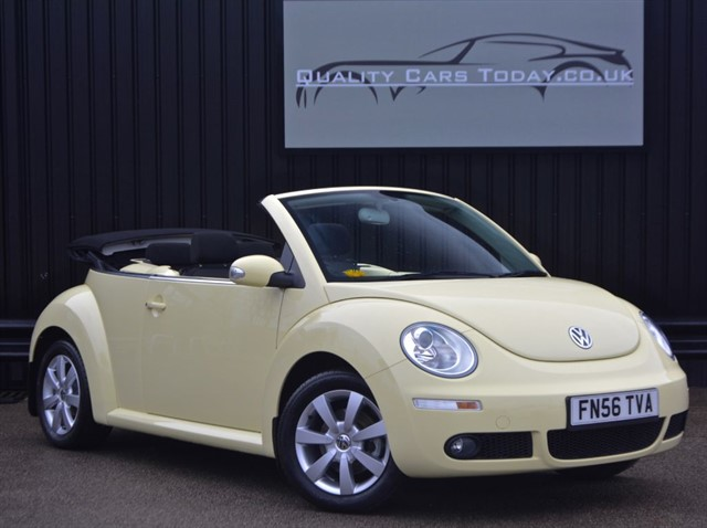 used VW Beetle 1.6 LUNA Convertible *Just 10k Miles from New* in sheffield