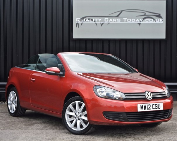 used VW Golf SE 2.0 TDI BlueM DSG Auto Convertible *1 Owner + FSH* in sheffield