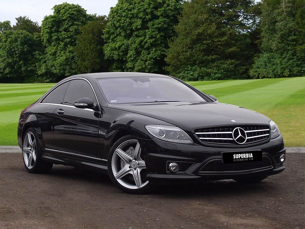 Mercedes benz cl63 amg night view harmon kardon sunroof for Mercedes benz cl63 for sale