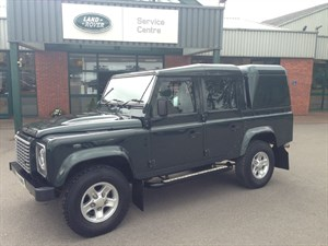 used Land Rover Defender 110 TD XS DCB in gloucestershire