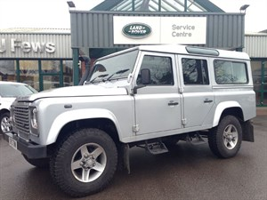 used Land Rover Defender 110 TD COUNTY STATION WAGON in gloucestershire