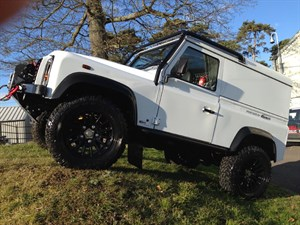 used Land Rover Defender BOWLER 90 hard top in gloucestershire