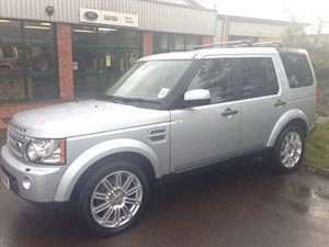 used Land Rover Discovery 4 TDV6 HSE in gloucestershire