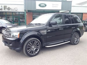 used Land Rover Range Rover Sport TDV8 SPORT HSE in gloucestershire