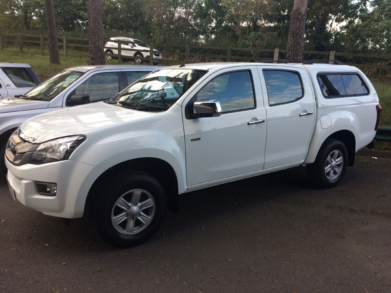 used Isuzu D-Max TD EIGER DCB in gloucestershire