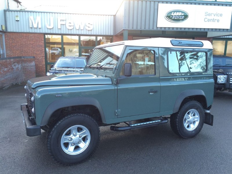 used Land Rover Defender 90 TD STATION WAGON in gloucestershire