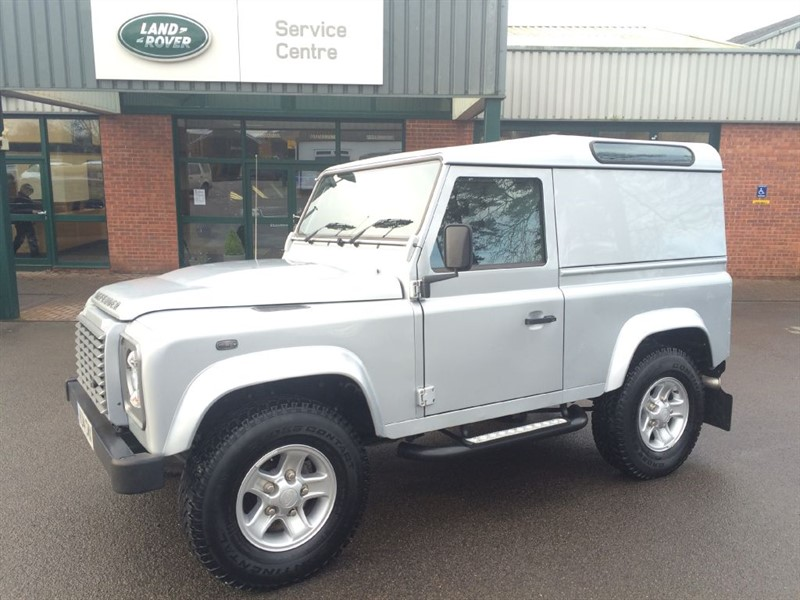 used Land Rover Defender 90 TD HARD TOP XS in gloucestershire