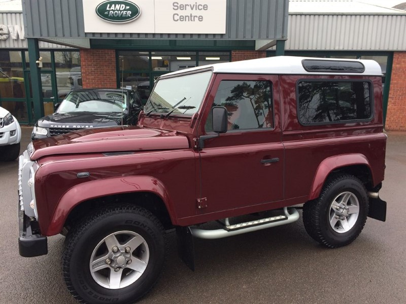 used Land Rover Defender 90 TD XS STATION WAGON in gloucestershire