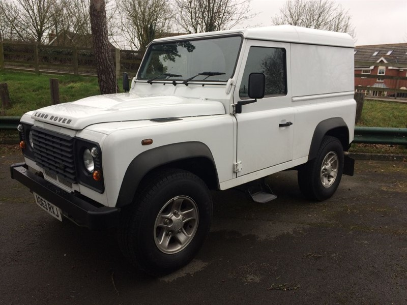 used Land Rover Defender 90 TD HARD TOP in gloucestershire