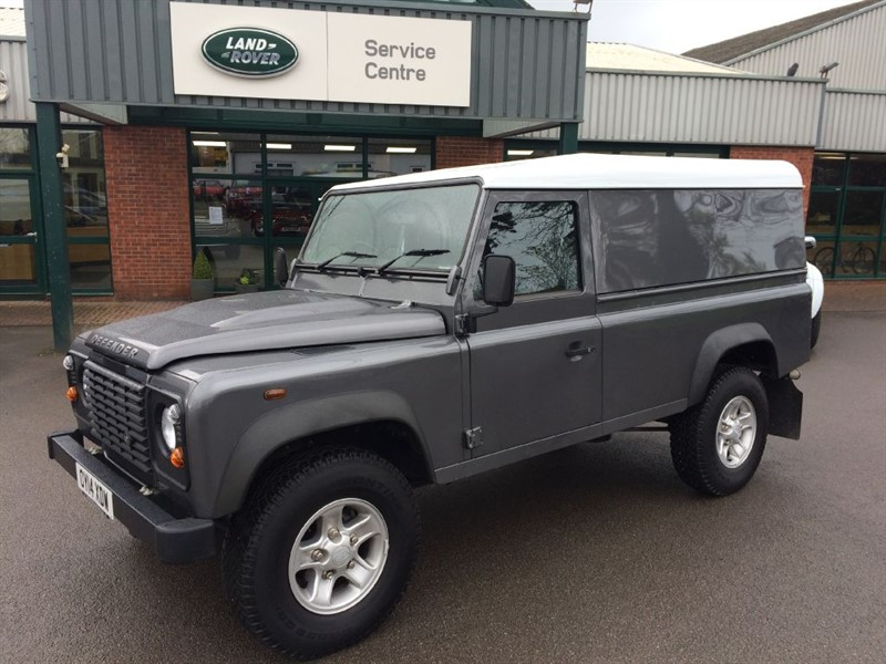 used Land Rover Defender 110 TD HARD TOP in gloucestershire