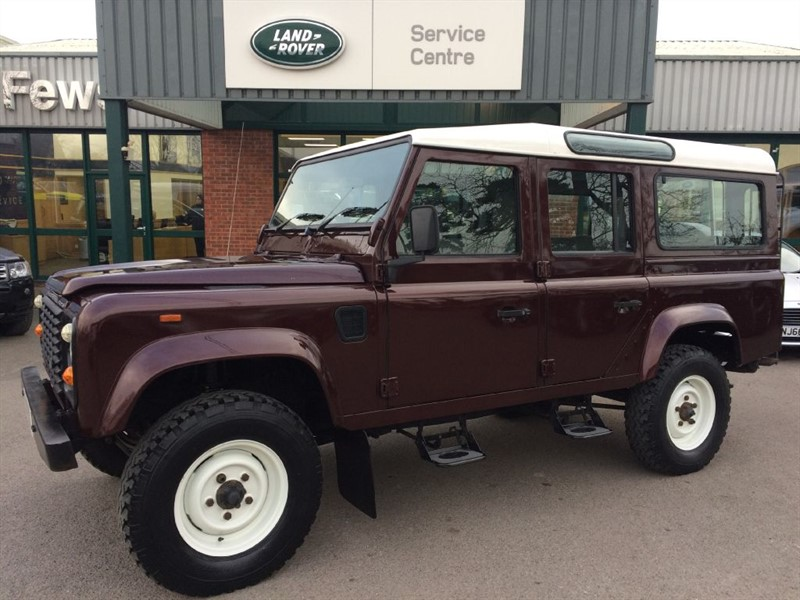 used Land Rover Defender 110 COUNTY TDI in gloucestershire