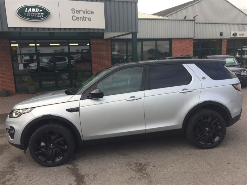 used Land Rover Discovery Sport SD4 HSE LUXURY in gloucestershire