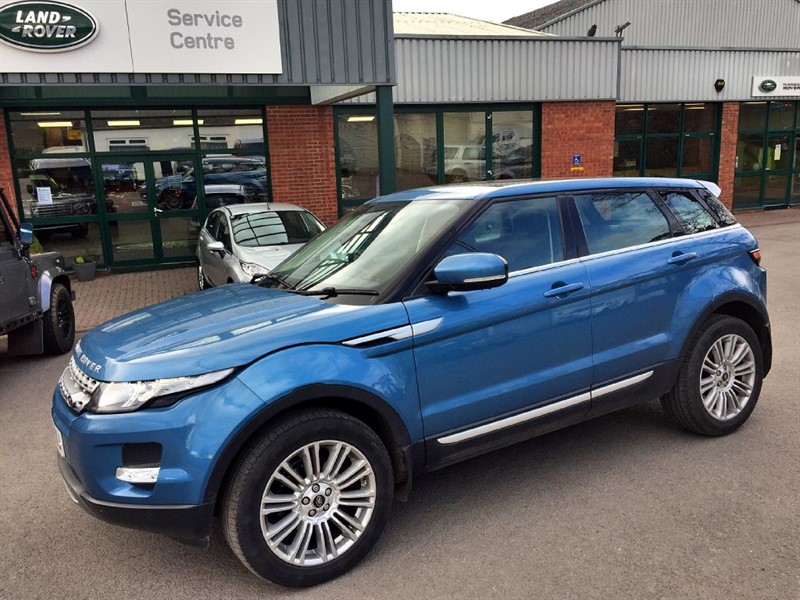 used Land Rover Range Rover Evoque SD4 PRESTIGE LUX in gloucestershire