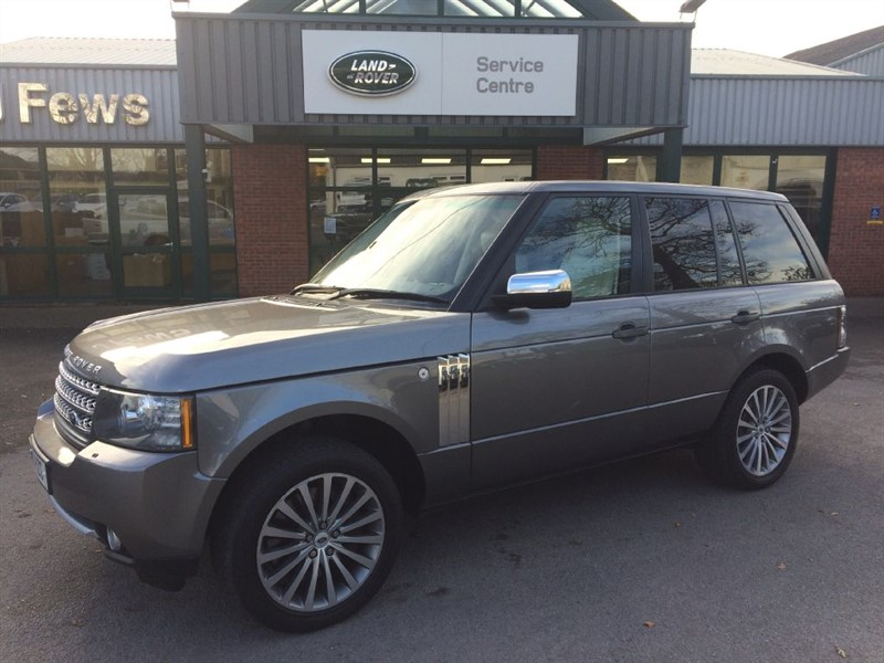 used Land Rover Range Rover TDV8 AUTOBIOGRAPHY in gloucestershire