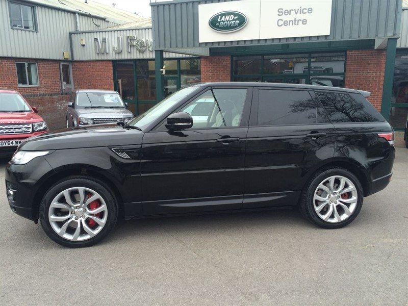 used Land Rover Range Rover Sport NEW SHAPE SDV6 AUTOBIOGRAPHY DYNAMIC in gloucestershire