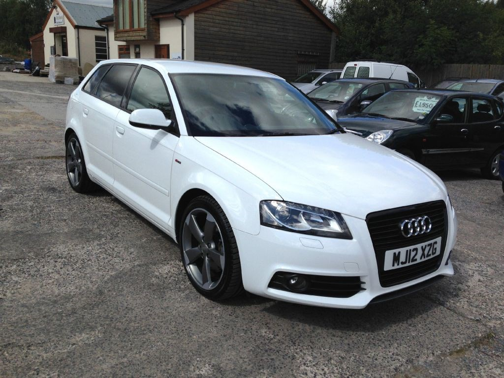 audi a3 sportback tdi 170 bhp s line se black edition dsg auto 2012 for sale in accrington. Black Bedroom Furniture Sets. Home Design Ideas