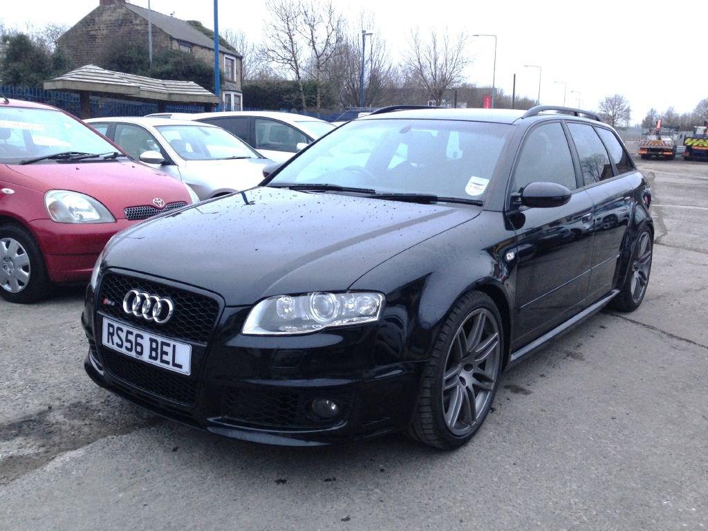 Audi A4 Rs4 Quattro Avant Estate Black 79k Miles For Sale