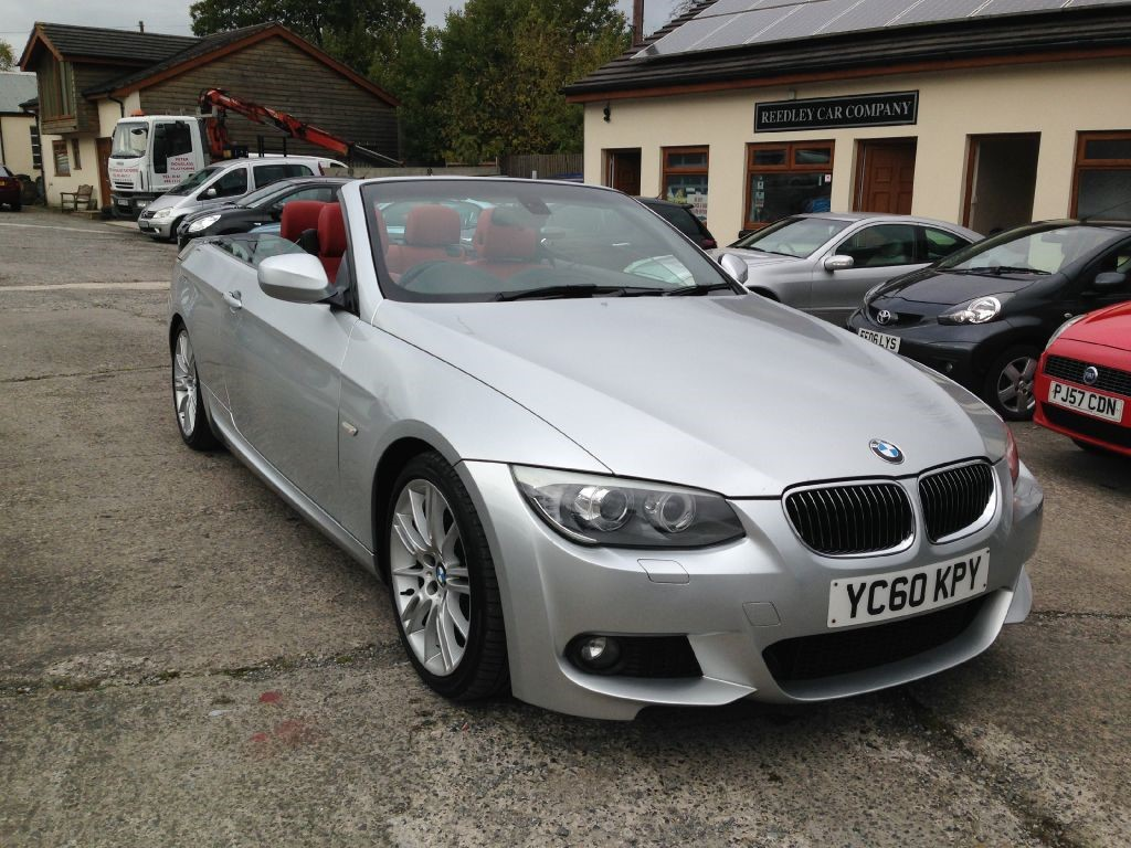 bmw 3 series 325d m sport convertible sat nav leather 2010 for sale in accrington blackburn. Black Bedroom Furniture Sets. Home Design Ideas